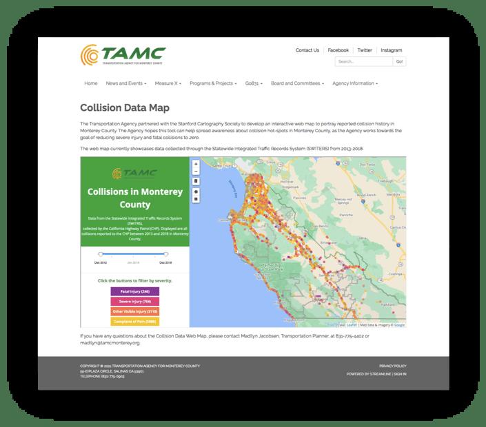 TAMC Website
