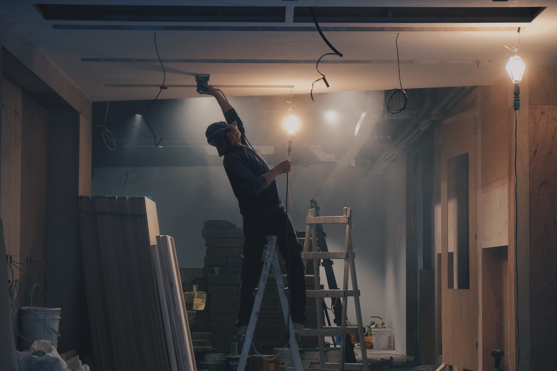 repairing ceiling